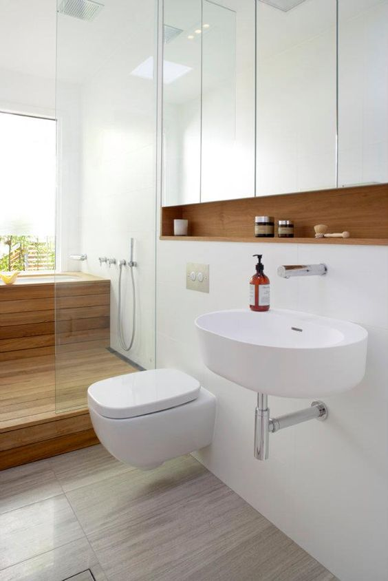 Banheiros Decorados com Nichos