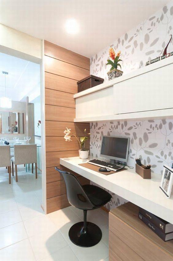 Decoração de Escritório em Apartamento Pequeno