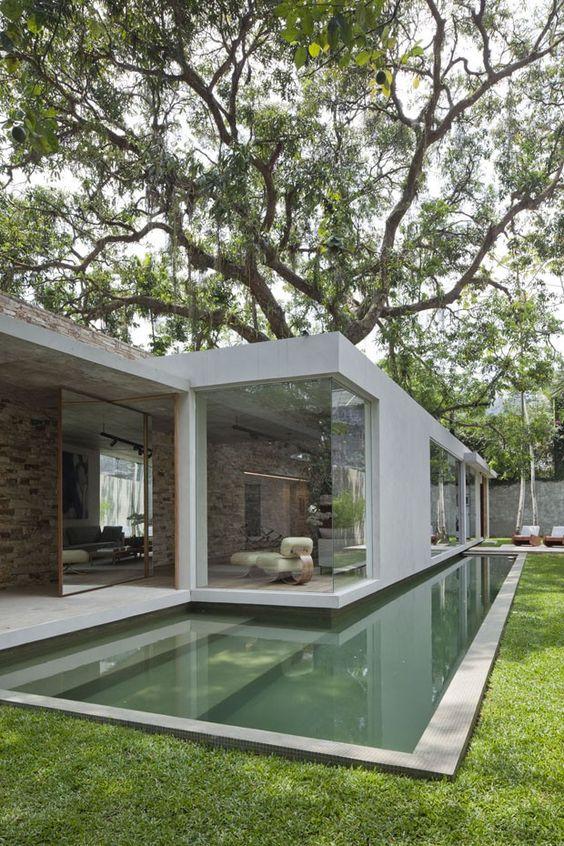 Imagens de Fachadas de Casas com Pedras Decorativas