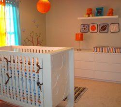 Decoração de Quarto de Bebê Simples e Barato Fotos