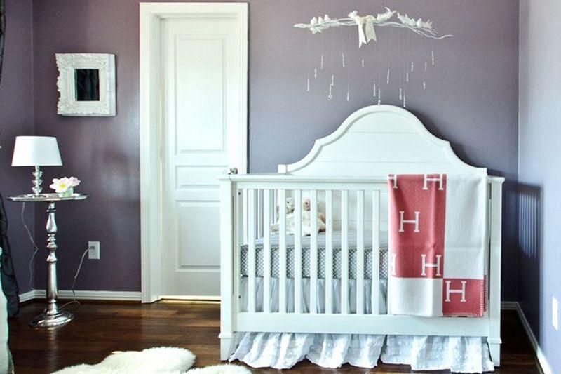 Decoração de Quarto de Bebê Simples