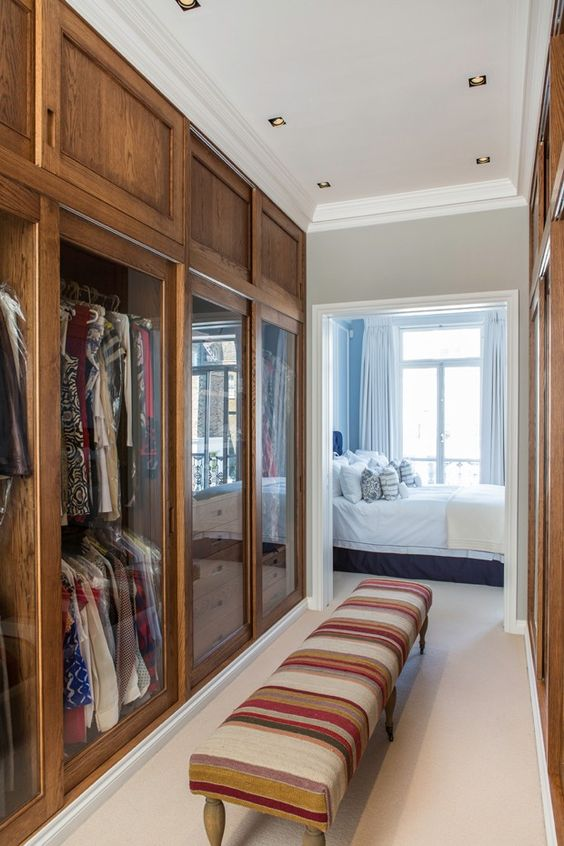 Decoração de Quarto de Casal com Closet e Banheiro FotosSó Decor -> Fotos De Banheiro Com Banheira E Closet
