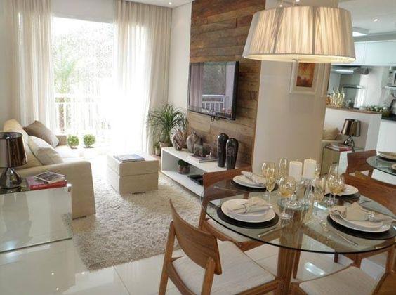 Fotos Sala De Estar E Jantar ~ Decoração de Salas de Estar e Jantar Modernas Modelos, FotosSó