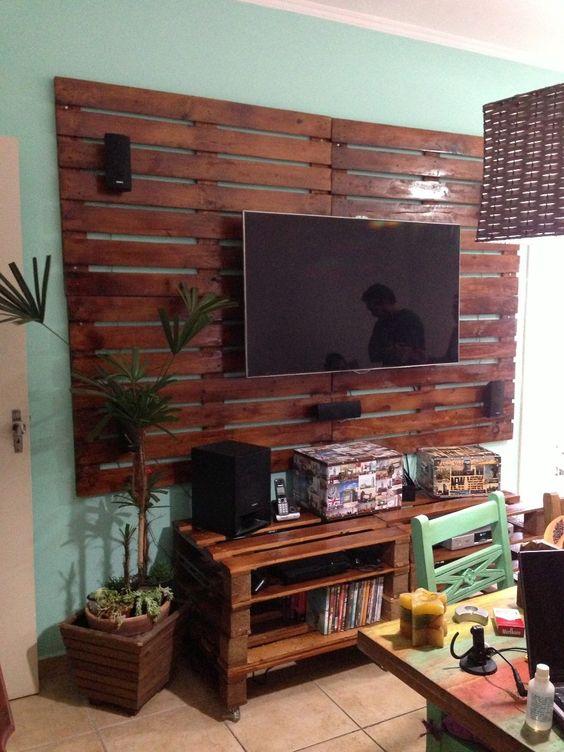 Ideias Para Sala De Estar Baratas ~ De Sala Barata E Simples  Ideias de decorao salas simples e baratas
