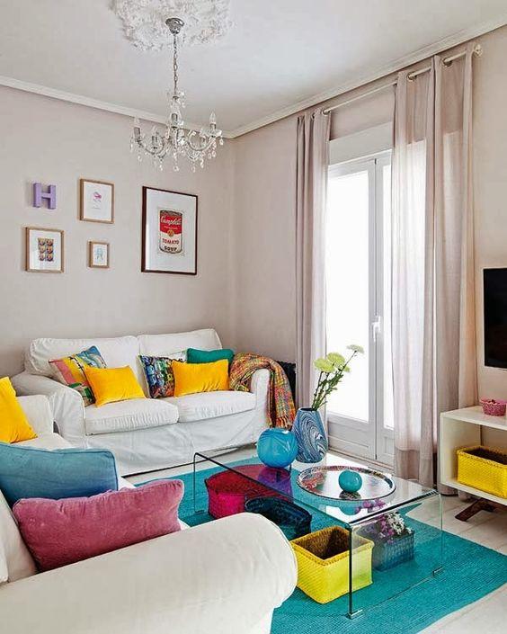 Decoracao De Sala Simples ~ de Decoração de Salas Simples e Baratas # decoracao de sala simples