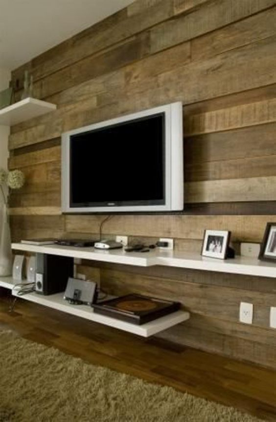 Ideias Para Sala De Estar Baratas ~ Ideias de Decoração de Salas Simples e Baratas # decoracao de sala