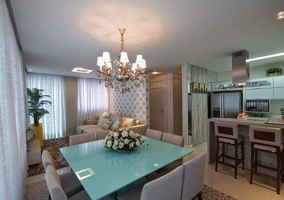 Projetos de decora o de interiores de apartamentos for Interiores de apartamentos