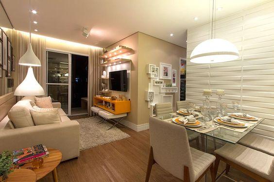 fotos de decoracao de interiores apartamentos pequenos:Projetos de Decoração de Interiores de Apartamentos Pequenos: Fotos