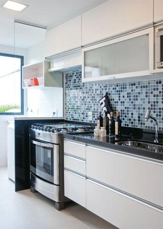 Cozinhas Conjugadas com Área de Serviço