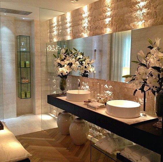 decoracao de apartamentos pequenos de luxo:Relaxing Bathroom Decorating Ideas