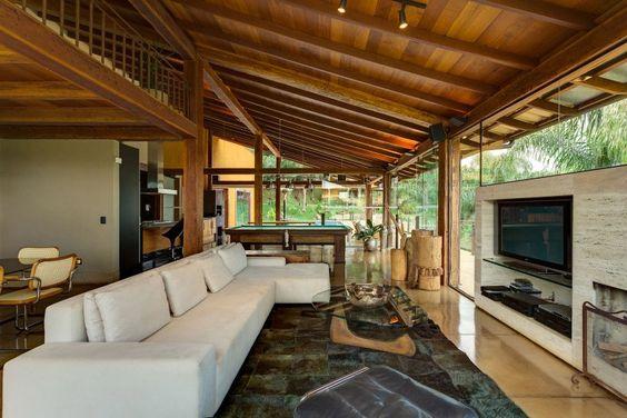 Decora o de casas de campo pequenas e simples fotoss decor - Casas de campo por dentro ...