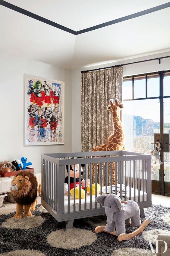 Decoração Barata e Criativa para Quarto de Bebê