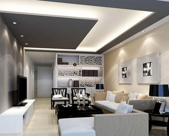 Gesso De Sala Pequena ~  Acabamento com Gesso para Sala  Pequena e Jantar  Casas e Imóveis