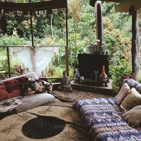 25 Best Ideas About Balinese Decor On Pinterest: 25 Terraços De Casas Simples E ModernasSó Decor