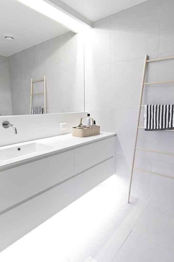 Decoração de Banheiros Simples e Bonitos 20 FotosSó Decor -> Banheiro Simples E Bonito