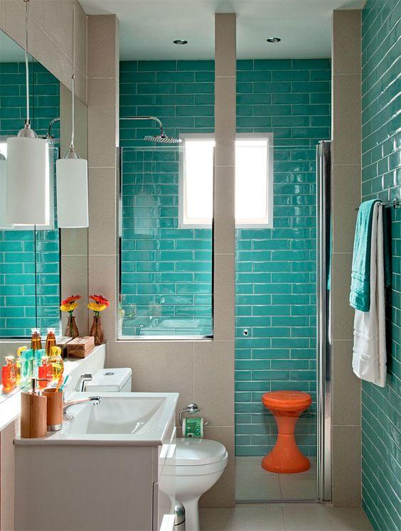 Decora o de banheiros simples e bonitos 20 fotoss decor for Fotos de apartamentos bonitos