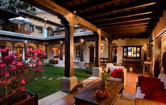 Decora o de varandas de casas grandes modeloss decor for Casa de estilo campestre