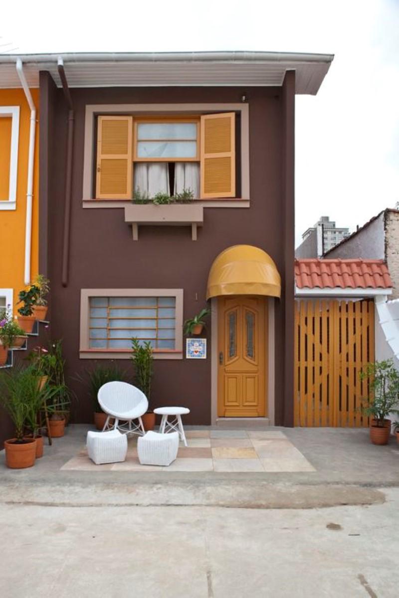 60 pinturas de casas por fora e por dentros decor - Pintura casa moderna ...