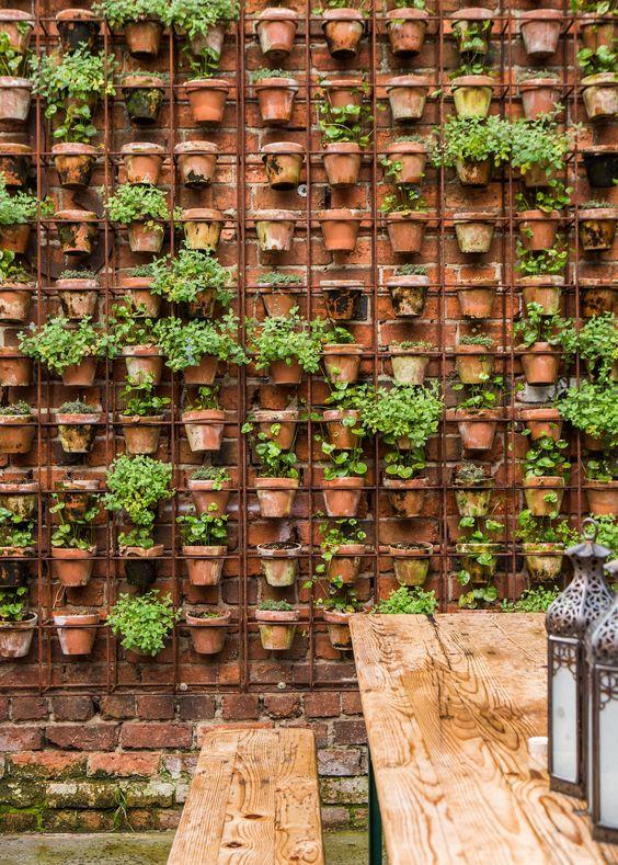 muro externo decorado