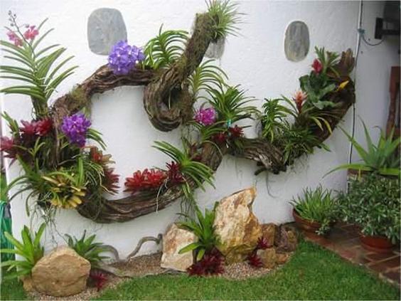 decoração de muros