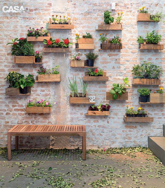 como decorar muro externo