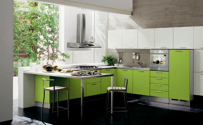 Dicas de Decoração de Cozinhas Verdes