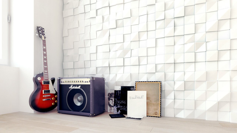 21 fotos de paredes decoradas com gessos decor for Placas decoradas para pared
