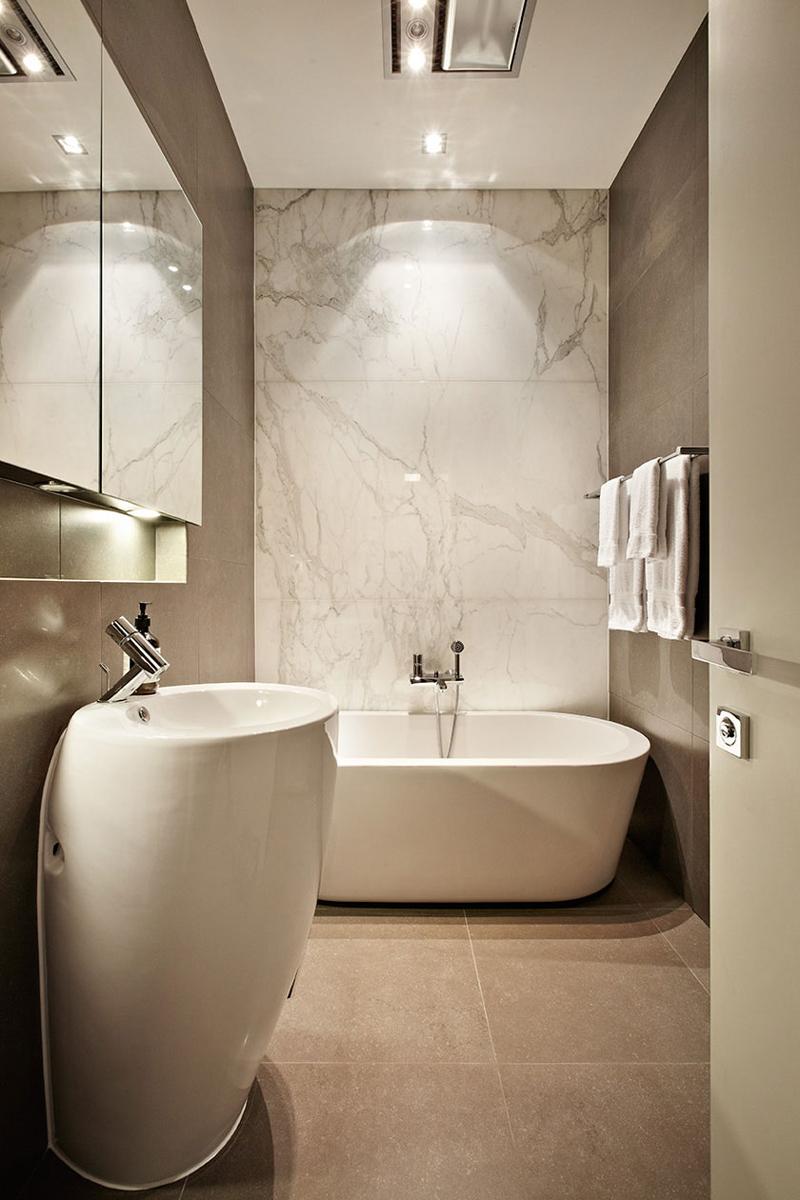 Dicas de Banheiros Pequenos e Modernos