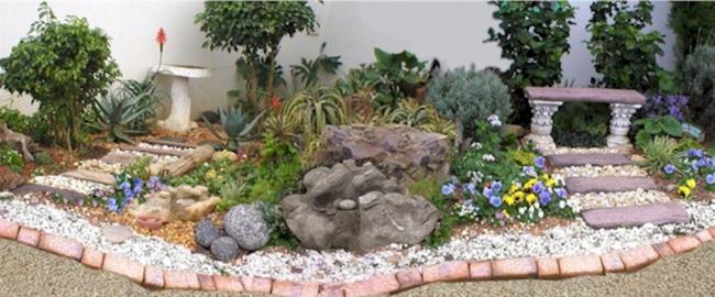 Jardins com Pedras
