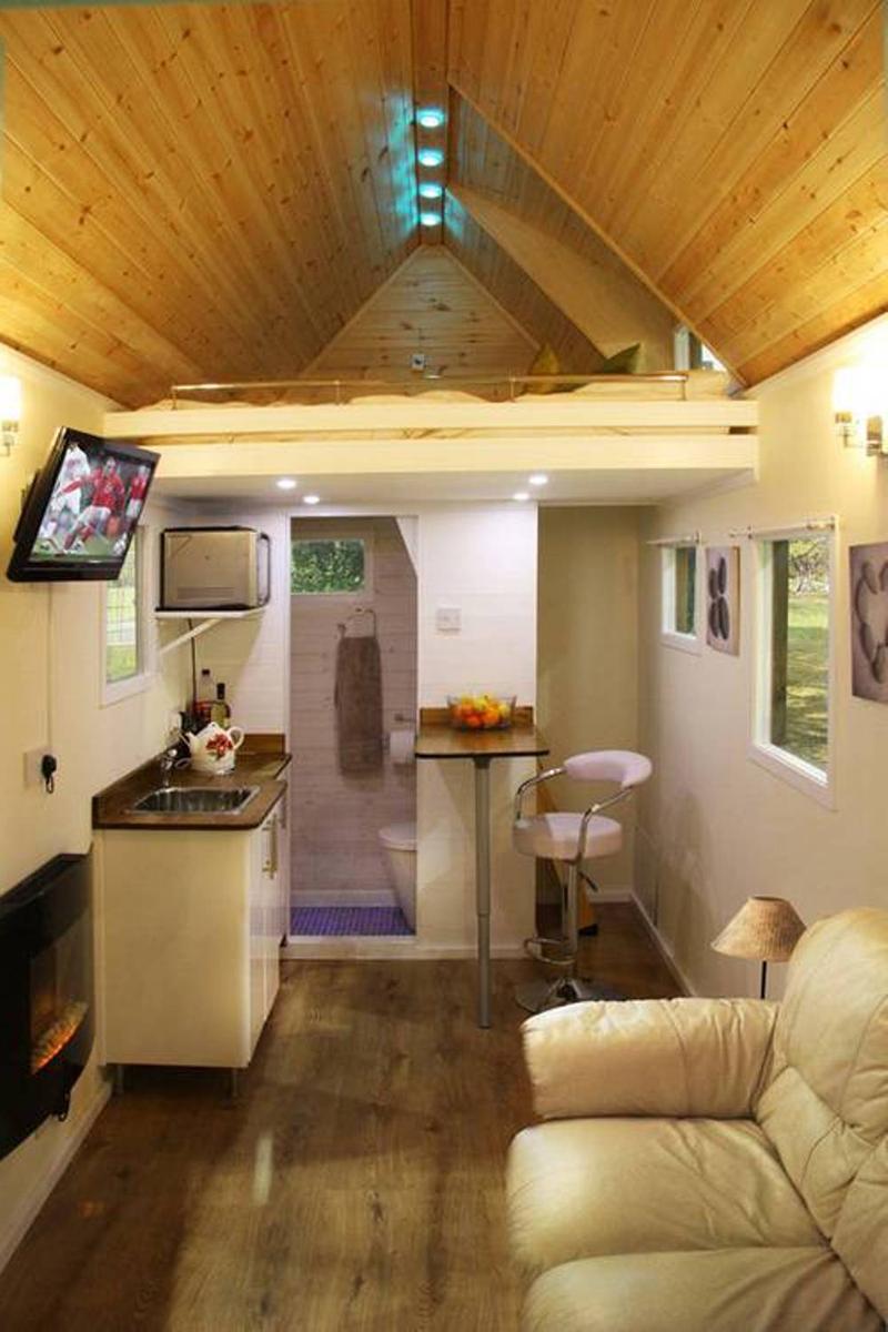 29 ideias de decora o de casas simples e aconchegantess - Miniature room boxes interior design ...