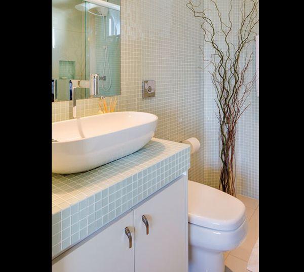 Dicas de Banheiros Pequenos Decorados com Porcelanato