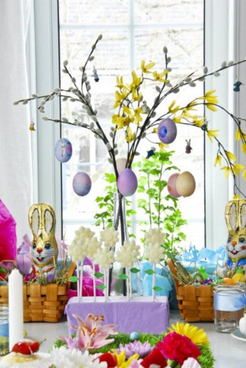 Dicas de Decoração de Páscoa 2017 Simples e Barata
