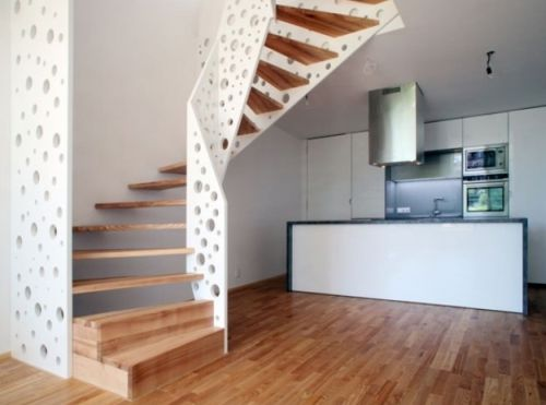 Opções para Decorar uma Escada Interna
