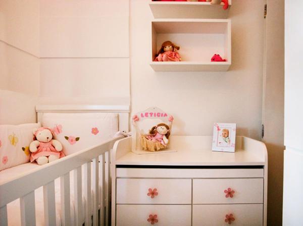 Quarto de Bebê Planejado para Apartamento Pequeno 25  ~ Quarto Planejada Para Apartamento