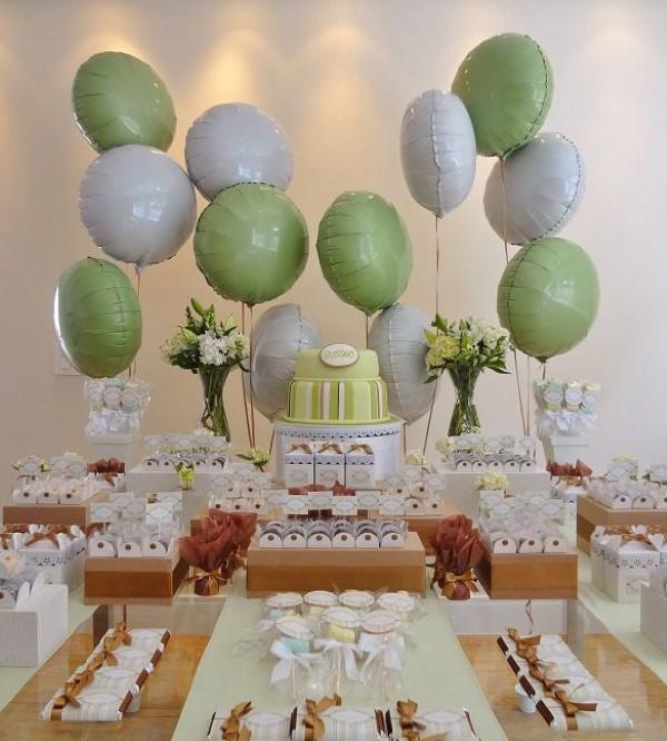 dicas para decoracao de batizado com baloes
