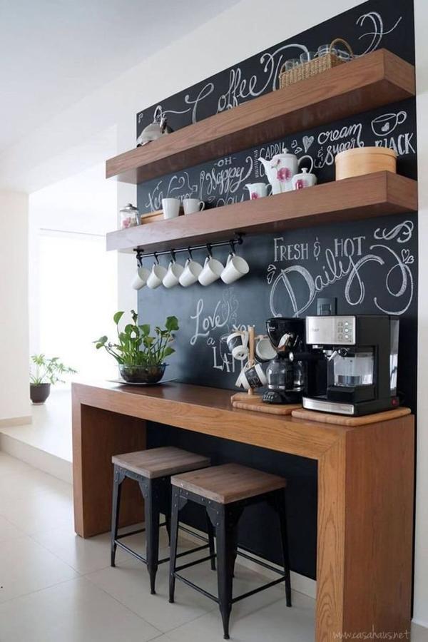 Dicas de Decoração do Cantinho do Café