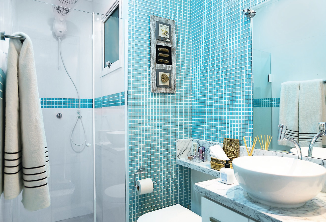 Decoração de banheiro social pequeno 24 modelosSó Decor -> Banheiro Pequeno Ceramica