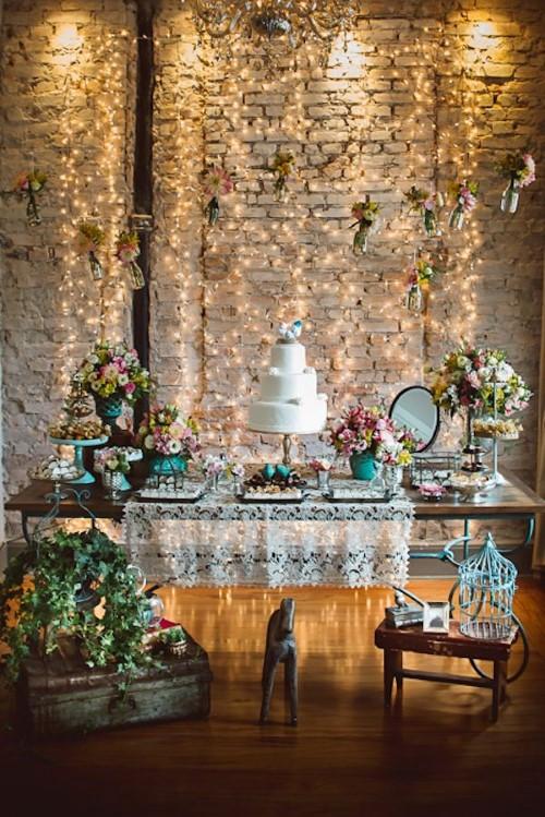 decoração de noivado simples e barato 12