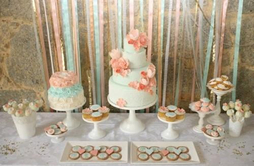 decoração de noivado simples e barato 15
