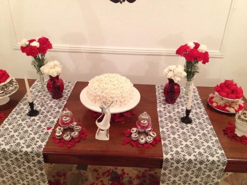 decoração de noivado simples e barato 6