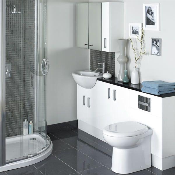 Decoração de banheiro social pequeno 24 modelosSó Decor -> Banheiro Pequeno Social