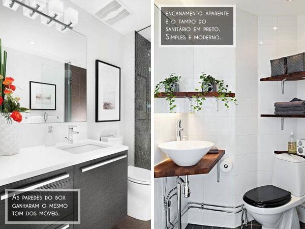 ideias de decoração de banheiro pequeno