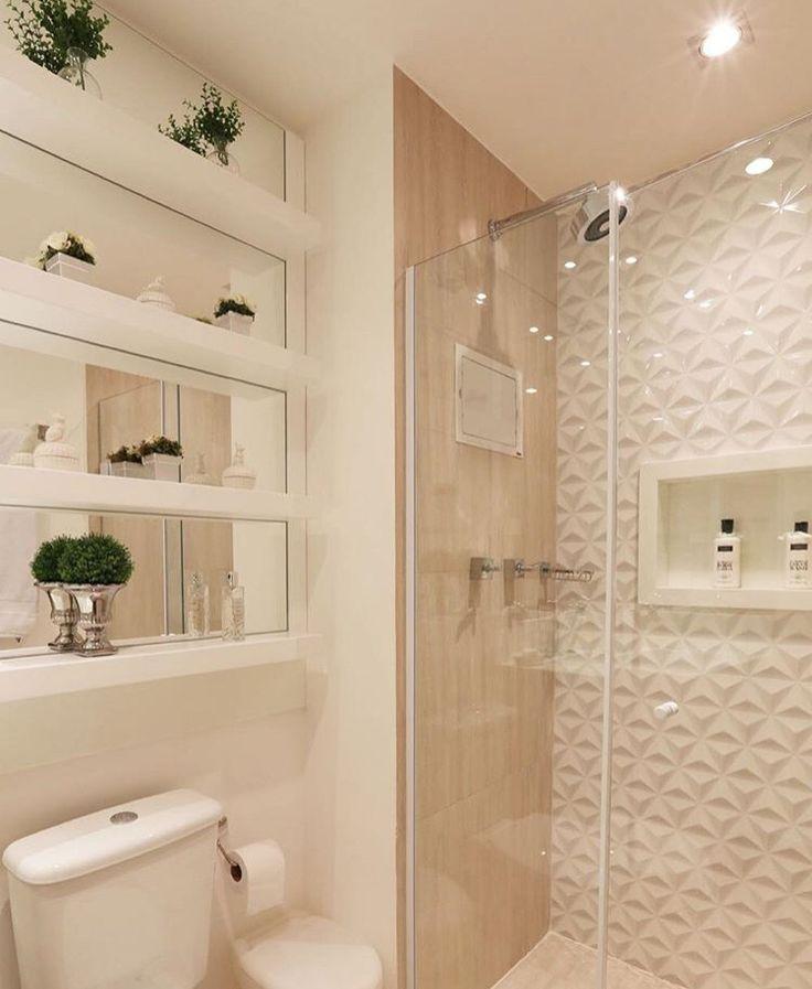 Decoração de banheiro social pequeno 24 modelosSó Decor -> Decoracao Para Banheiro Social Pequeno