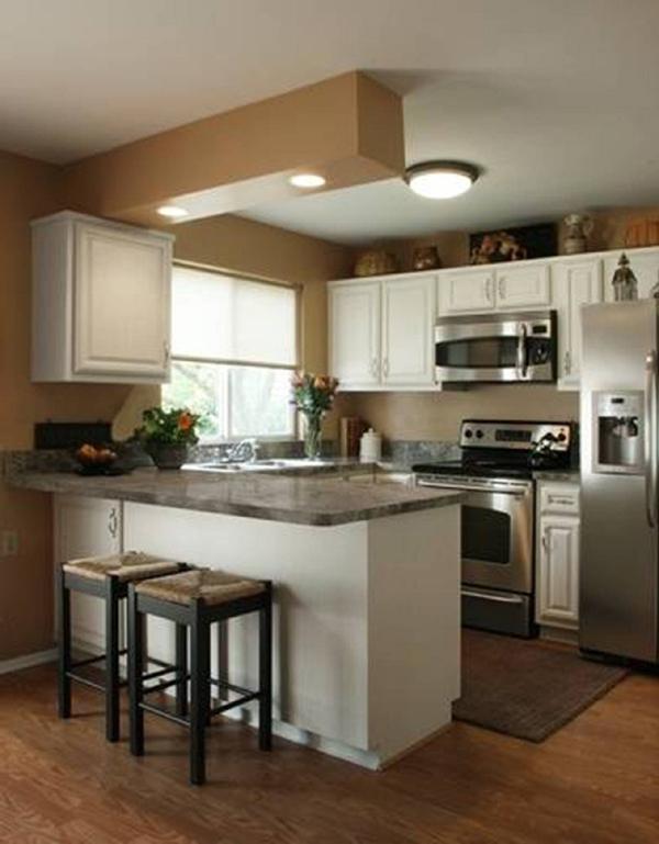 cozinha integrada com granito