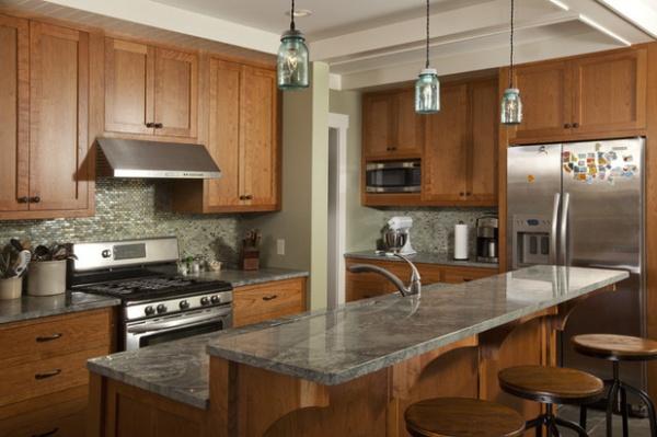 cozinha integrada com mármore