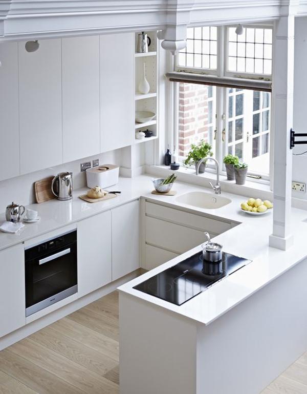 cozinha integrada em apartamento
