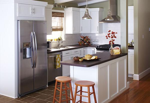 cozinha integrada simples