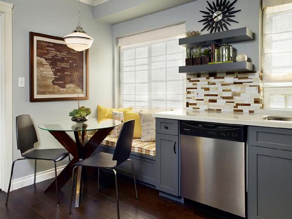 cozinha integrada na sala de jantar