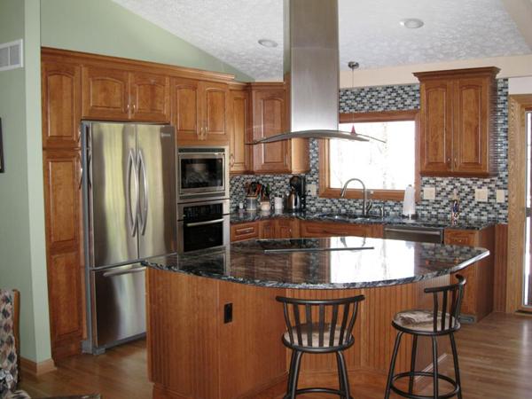 cozinha integrada com inox