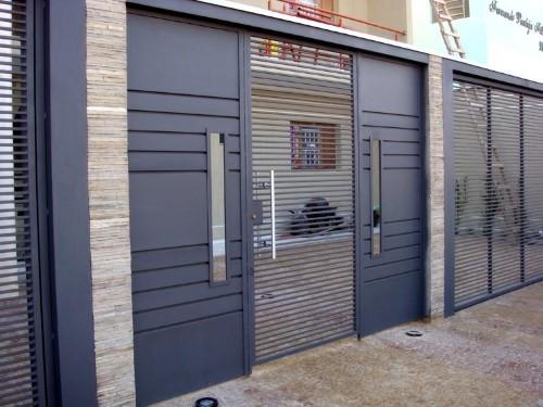 ideias para portões residenciais modernos